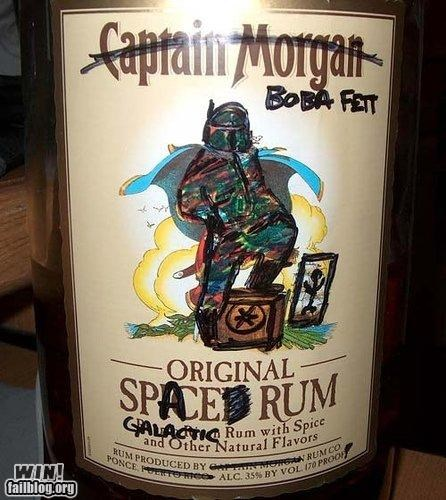 alcohol,boba fett,hacked,nerdgasm,star wars
