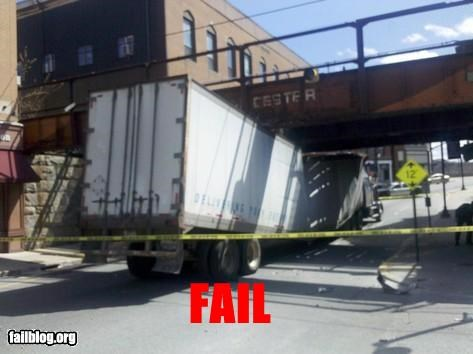 bridges didnt-clear-it driving failboat g rated roads trucks yikes - 4679218176