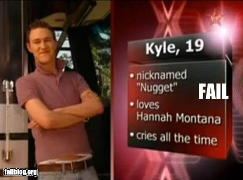 dating,failboat,g rated,hannah montana,manly,screenshot