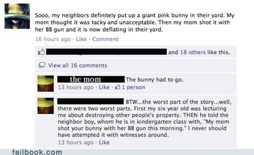 bunny easter gun parents really