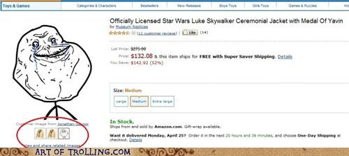 amazon,forever alone,reviews,skywalker