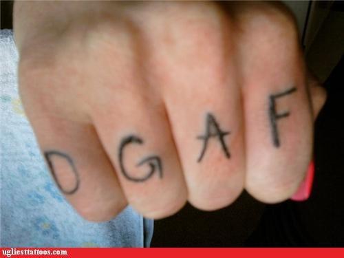 gifs,knuckle tats,dgaf,funny