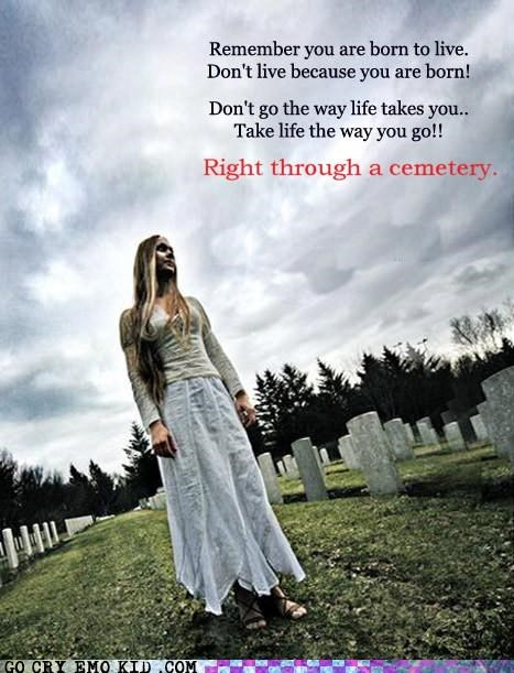 cemetery,home,quick,walk