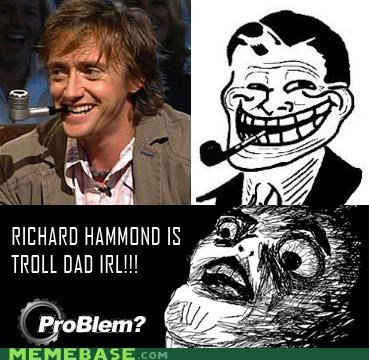 Rage Comics,richard hammond,top gear,troll dad