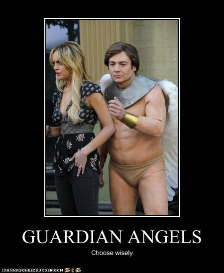 actor celeb demotivational funny lindsay lohan mike myers - 4681099776