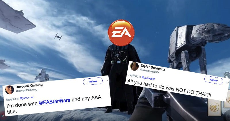 People react with rage to the news that EA is bringing back microtransactions.