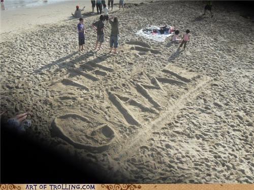 IRL sand the game u lose u mad - 4681251072