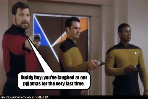 actor celeb funny Jonathan Frakes sci fi Star Trek - 4681340928