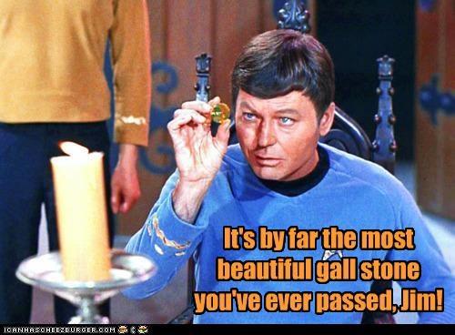 actor celeb DeForest Kelley funny sci fi Star Trek - 4681360128
