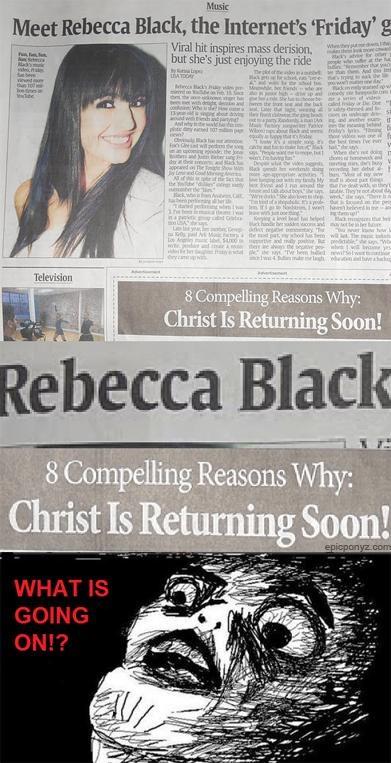 FRIDAY Morning Links Rebecca Black - 4681969920