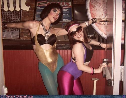 80s bra dancers spandex - 4682071040