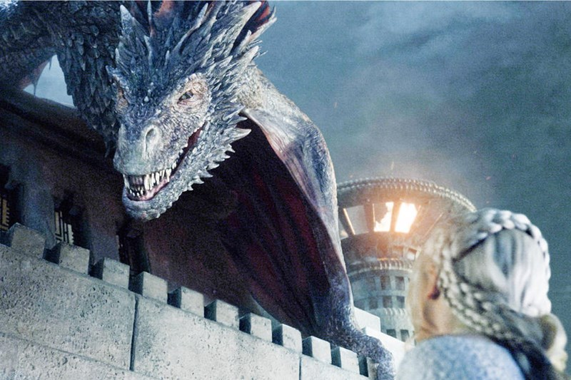 daenerys,drogon,Game of Thrones,season 5,khaleesi
