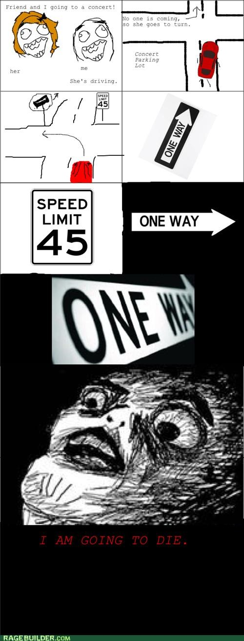 one way Rage Comics - 4682329600
