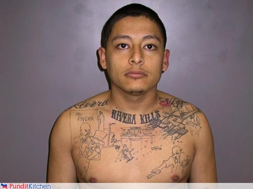 crime gangs murder news political pictures tattoo - 4682359552