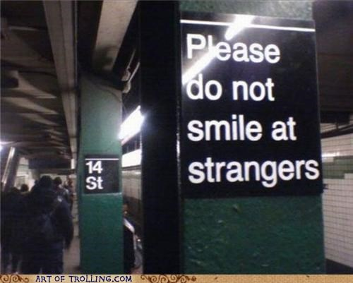 IRL public transit sign Subway - 4682384384