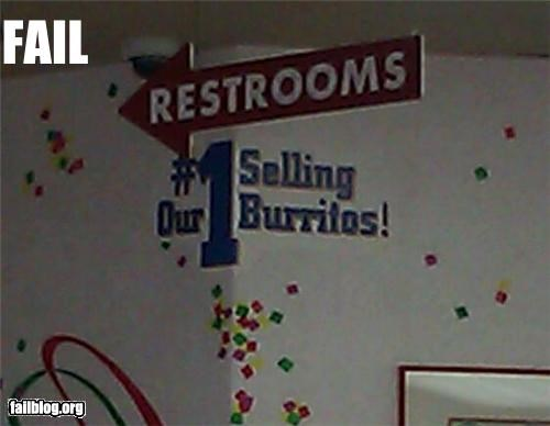 bathrooms failboat food g rated juxtaposition poop signs truth - 4682472704