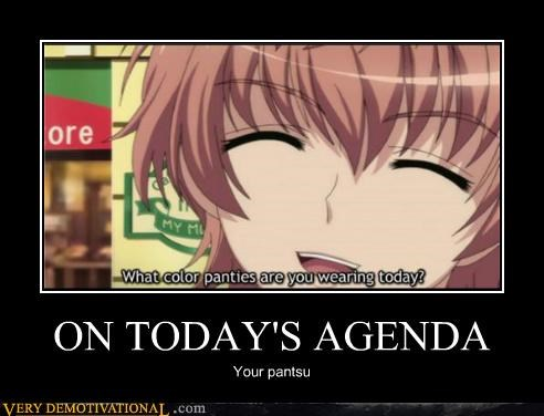 agenda,anime,panties,Sexy Ladies