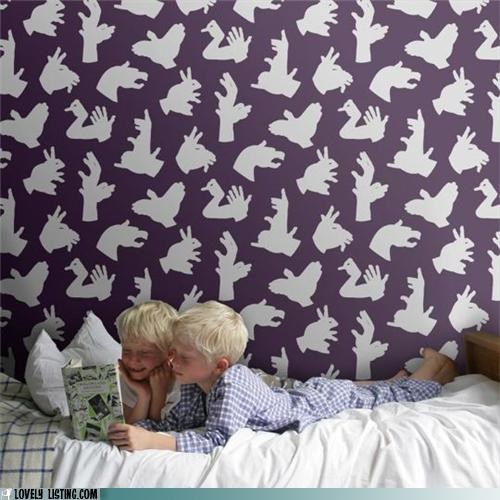 kids,nads,shadow puppets,wallpaper