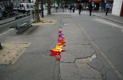 Juliana Santacruz Herrera,Street Art,Urban Intervention