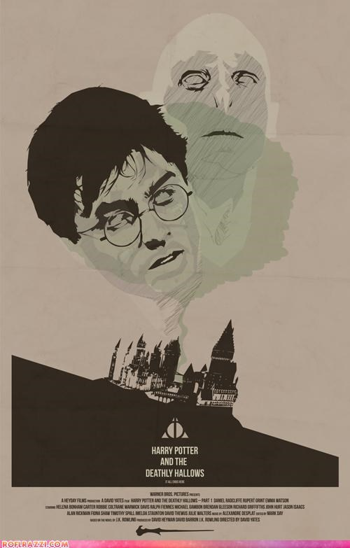 funny Hall of Fame Harry Potter Movie poster rumor sci fi - 4683172352