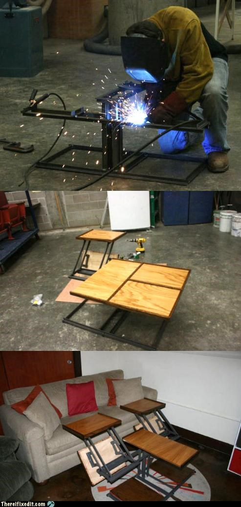DIY,not a kludge,project,table,transformer