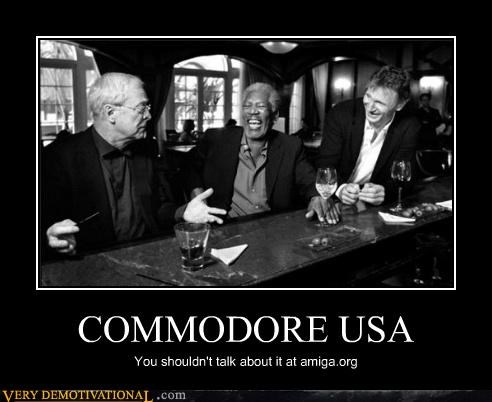 COMMODORE USA You shouldn't talk about it at amiga.org