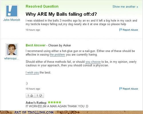 hot glue gun,balls,yahoo answers