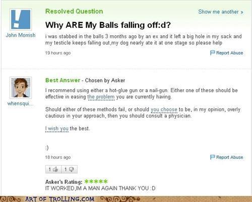 balls yahoo answers - 4683442432