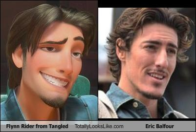 Flynn Rider from Tangled Totally Looks Like Eric Balfour