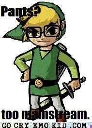emolulz legend of zelda link pants video games - 4683782912