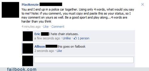 chain statuses
