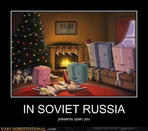 IN SOVIET RUSSIA presents open you