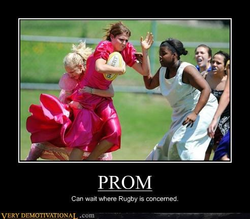 ladies prom rugby wtf
