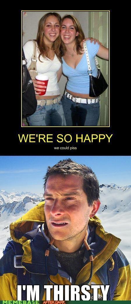 bear bear grylls happiness pee Reframe VD - 4684621312