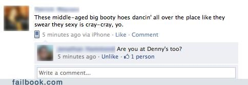 dennys Party party hard failbook - 4684643328
