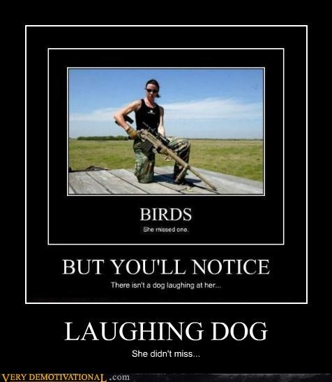dogs duck hunt laughing miss - 4685099008
