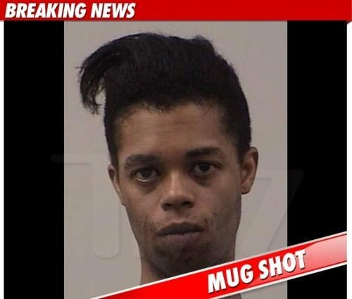 Antoine Dodson bed intruder Hydro Kid meme mug shot So Dumb For Real - 4685520128