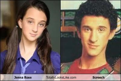 Dustin Diamond funny Jenna Rose Screech TLL