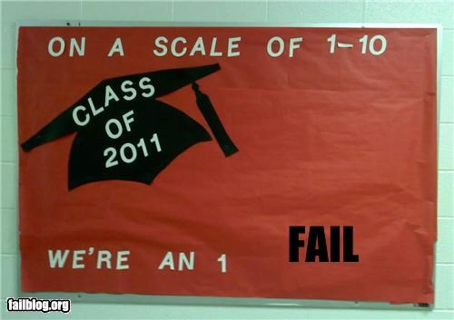 bulletin board,class of 2011 is screwed,education,failboat,g rated,scared for the future