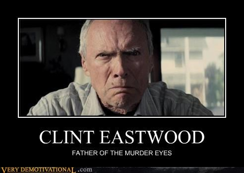 CLINT EASTWOOD FATHER OF THE MURDER EYES