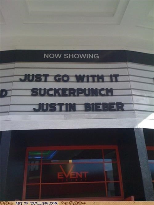 IRL just go with it justin bieber movies Sucker Punch