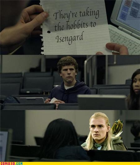 facebook legolas Lord of the Rings social network