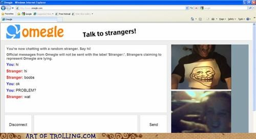 awesome,Chat Roulette,gtfo,lady fun bags,trollface