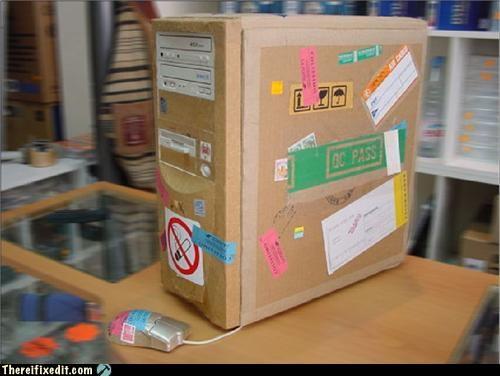 cardboard computer cases fire hazard neat - 4688352768