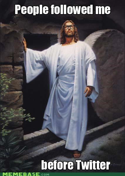 bible following jesus LOL Jesus twitter - 4689135360
