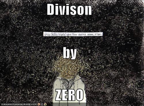 divide by zero,explode,glitter