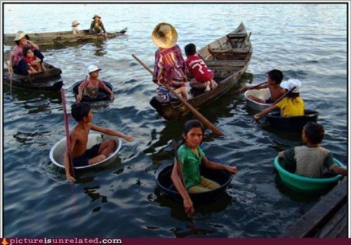boats,kids,oars,ocean,wtf