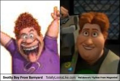 Snotty Boy From Barnyard Totally Looks Like Hal Stewart Tighten