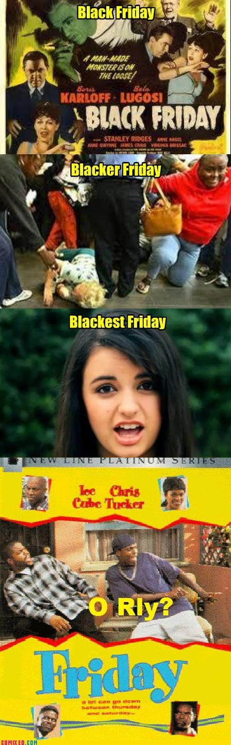 FRIDAY Movie orly Rebecca Black