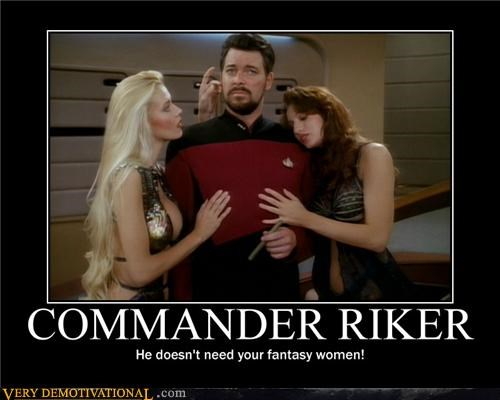 commander riker hilarious Star Trek wtf - 4690387456